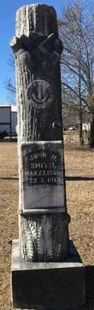 SMITH, JOHN M. - Bowie County, Texas | JOHN M. SMITH - Texas Gravestone Photos