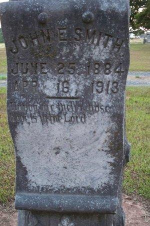 SMITH, JOHN E. (CLOSEUP) - Bowie County, Texas | JOHN E. (CLOSEUP) SMITH - Texas Gravestone Photos