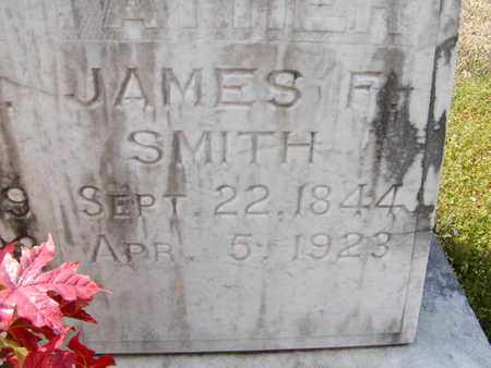 SMITH, JAMES F (CLOSEUP) - Bowie County, Texas | JAMES F (CLOSEUP) SMITH - Texas Gravestone Photos