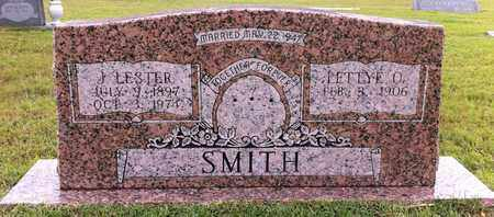 SMITH, J LESTER - Bowie County, Texas | J LESTER SMITH - Texas Gravestone Photos