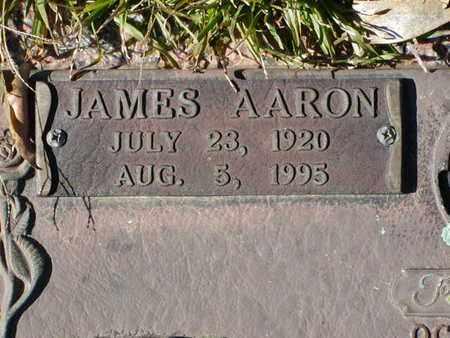 SMITH, JAMES AARON  (CLOSEUP) - Bowie County, Texas | JAMES AARON  (CLOSEUP) SMITH - Texas Gravestone Photos