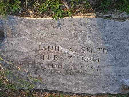 SMITH, JANIE A - Bowie County, Texas | JANIE A SMITH - Texas Gravestone Photos