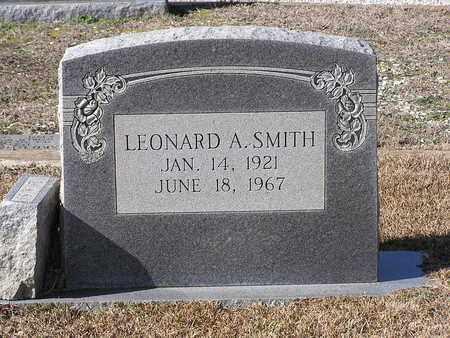 SMITH, LEONARD A - Bowie County, Texas | LEONARD A SMITH - Texas Gravestone Photos