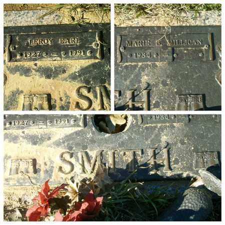 SMITH, LEROY EARL - Bowie County, Texas | LEROY EARL SMITH - Texas Gravestone Photos