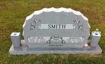 SMITH, LEE IRVIN - Bowie County, Texas | LEE IRVIN SMITH - Texas Gravestone Photos