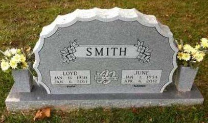 SMITH, JUNE - Bowie County, Texas | JUNE SMITH - Texas Gravestone Photos