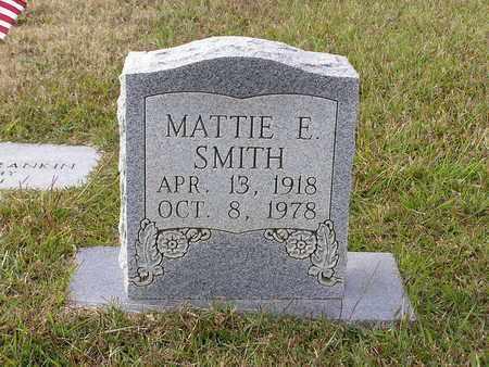 SMITH, MATTIE E - Bowie County, Texas | MATTIE E SMITH - Texas Gravestone Photos