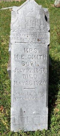 SMITH, M E, MRS - Bowie County, Texas   M E, MRS SMITH - Texas Gravestone Photos