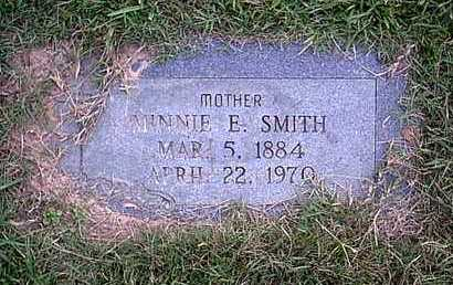 SMITH, MINNIE E - Bowie County, Texas | MINNIE E SMITH - Texas Gravestone Photos