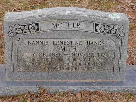 SMITH, NANNIE ERNESTINE - Bowie County, Texas | NANNIE ERNESTINE SMITH - Texas Gravestone Photos