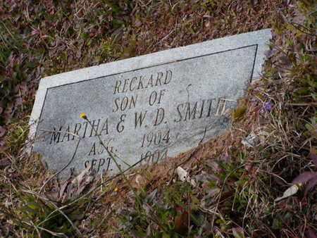 SMITH, RECKARD - Bowie County, Texas   RECKARD SMITH - Texas Gravestone Photos