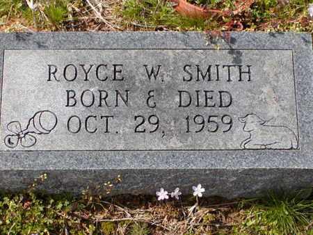 SMITH, ROYCE W - Bowie County, Texas | ROYCE W SMITH - Texas Gravestone Photos