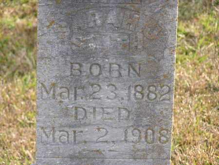 SMITH, SARAH J  (CLOSEUP) - Bowie County, Texas   SARAH J  (CLOSEUP) SMITH - Texas Gravestone Photos