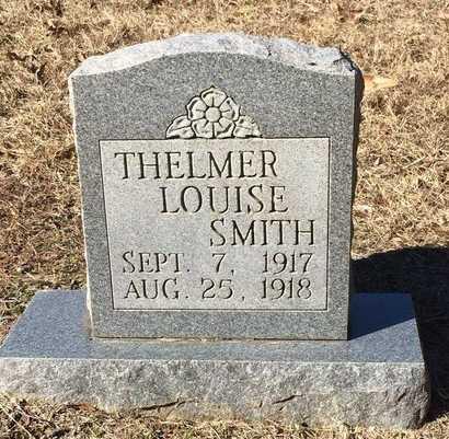 SMITH, THELMER LOUISE - Bowie County, Texas | THELMER LOUISE SMITH - Texas Gravestone Photos