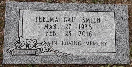 SMITH, THELMA GAIL - Bowie County, Texas   THELMA GAIL SMITH - Texas Gravestone Photos