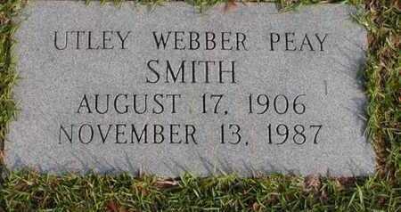 SMITH, UTLEY - Bowie County, Texas   UTLEY SMITH - Texas Gravestone Photos