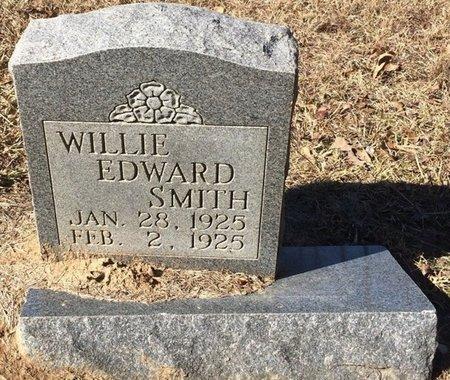 SMITH, WILLIE EDWARD - Bowie County, Texas | WILLIE EDWARD SMITH - Texas Gravestone Photos