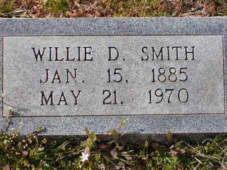 SMITH, WILLIE D - Bowie County, Texas | WILLIE D SMITH - Texas Gravestone Photos