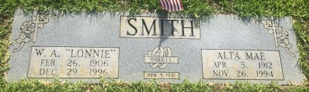 SMITH, ALTA MAE - Bowie County, Texas | ALTA MAE SMITH - Texas Gravestone Photos