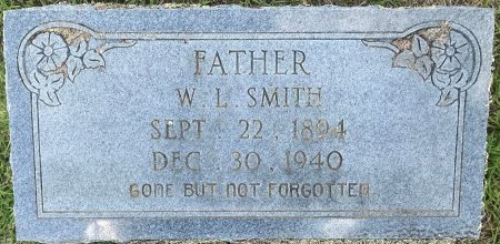 SMITH, W L - Bowie County, Texas | W L SMITH - Texas Gravestone Photos
