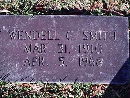 SMITH, WENDELL C - Bowie County, Texas   WENDELL C SMITH - Texas Gravestone Photos