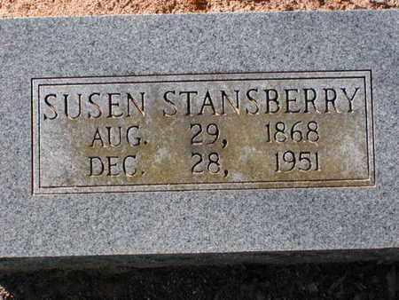 STANSBERRY, SUSEN - Bowie County, Texas | SUSEN STANSBERRY - Texas Gravestone Photos