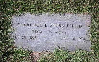STUBBLEFIELD (VETERAN), CLARENCE E - Bowie County, Texas | CLARENCE E STUBBLEFIELD (VETERAN) - Texas Gravestone Photos