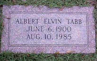 TABB, ALBERT ELVIN - Bowie County, Texas | ALBERT ELVIN TABB - Texas Gravestone Photos