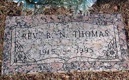 THOMAS, R N, REV - Bowie County, Texas   R N, REV THOMAS - Texas Gravestone Photos