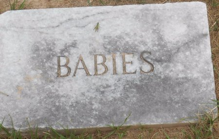 UNKNOWN, BABIES - Bowie County, Texas | BABIES UNKNOWN - Texas Gravestone Photos