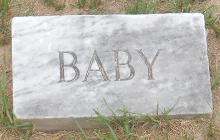 UNKNOWN, BABY - Bowie County, Texas | BABY UNKNOWN - Texas Gravestone Photos