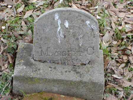 UNKNOWN, MARGARET C - Bowie County, Texas | MARGARET C UNKNOWN - Texas Gravestone Photos