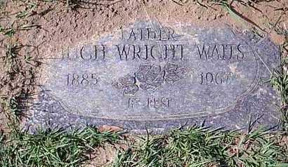 WAITS, HUGH WRIGHT - Bowie County, Texas   HUGH WRIGHT WAITS - Texas Gravestone Photos