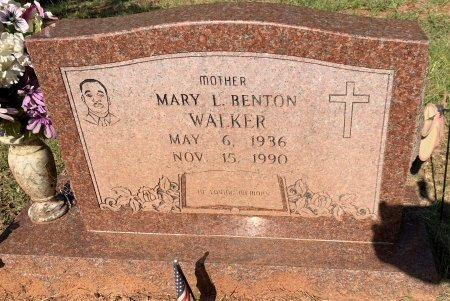 WALKER, MARY L - Bowie County, Texas | MARY L WALKER - Texas Gravestone Photos