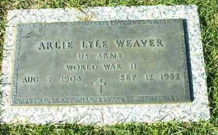 WEAVER (VETERAN WWII), ARLIE LYLE - Bowie County, Texas | ARLIE LYLE WEAVER (VETERAN WWII) - Texas Gravestone Photos