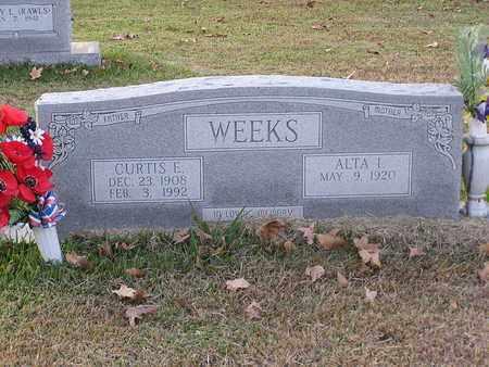 WEEKS, CURTIS E - Bowie County, Texas | CURTIS E WEEKS - Texas Gravestone Photos