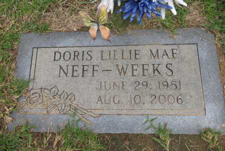 WEEKS, DORIS LILLIE MAE - Bowie County, Texas   DORIS LILLIE MAE WEEKS - Texas Gravestone Photos