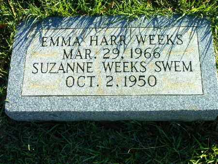 WEEKS, EMMA - Bowie County, Texas | EMMA WEEKS - Texas Gravestone Photos