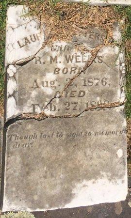 WEEKS, LAURA - Bowie County, Texas   LAURA WEEKS - Texas Gravestone Photos