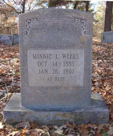 WEEKS, MINNIE L - Bowie County, Texas | MINNIE L WEEKS - Texas Gravestone Photos