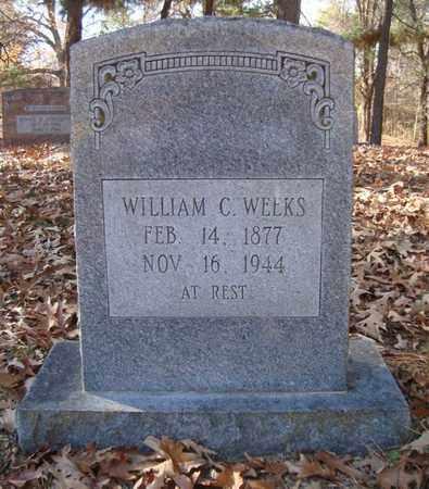 WEEKS, WILLIAM C - Bowie County, Texas | WILLIAM C WEEKS - Texas Gravestone Photos