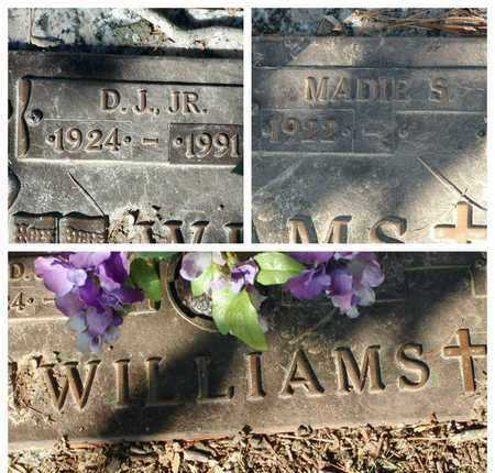 WILLIAMS, JR, D J - Bowie County, Texas | D J WILLIAMS, JR - Texas Gravestone Photos