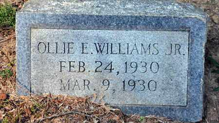 WILLIAMS, JR, OLLIE E - Bowie County, Texas | OLLIE E WILLIAMS, JR - Texas Gravestone Photos