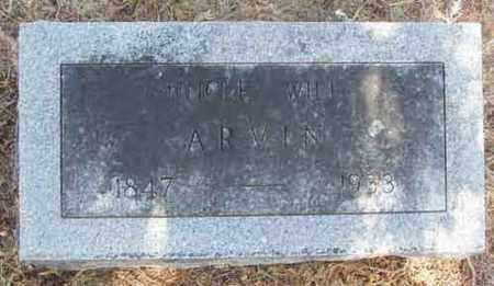 ARVIN, WILL - Callahan County, Texas | WILL ARVIN - Texas Gravestone Photos