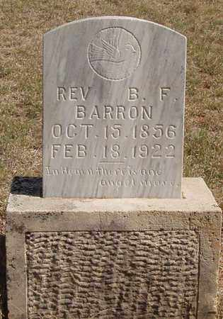 BARRON, B F,REV - Callahan County, Texas | B F,REV BARRON - Texas Gravestone Photos