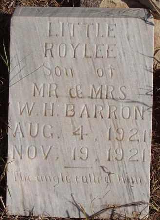 BARRON, ROY LEE - Callahan County, Texas | ROY LEE BARRON - Texas Gravestone Photos