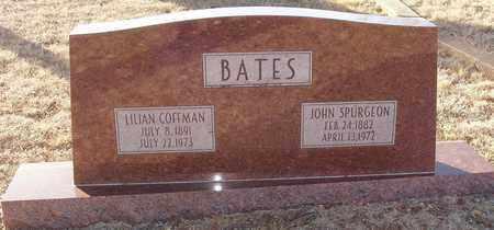 COFFMAN BATES, LILIAN - Callahan County, Texas | LILIAN COFFMAN BATES - Texas Gravestone Photos