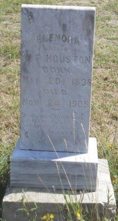 HOUSTON, ELENORA - Callahan County, Texas | ELENORA HOUSTON - Texas Gravestone Photos