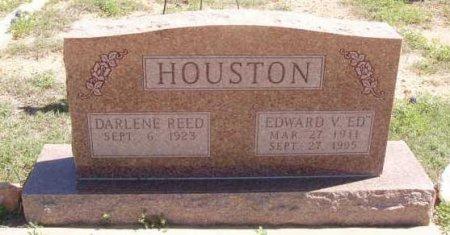"HOUSTON, EDWARD V. ""ED"" - Callahan County, Texas | EDWARD V. ""ED"" HOUSTON - Texas Gravestone Photos"