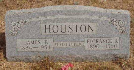 HOUSTON, JAMES F. - Callahan County, Texas | JAMES F. HOUSTON - Texas Gravestone Photos